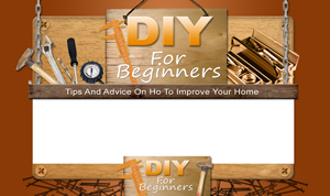 Thumbnail DIY For Beginners PSD Minisite HTML Graphics Ready Made Web Template