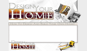 Thumbnail Design Your Home PSD Minisite HTML Graphics Ready Made Web Template