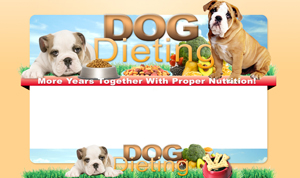 Thumbnail Dog Dieting PSD Minisite HTML Graphics Ready Made Web Template