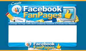 Thumbnail Facebook Fan Pages PSD Minisite HTML Graphics Ready Made Web Template