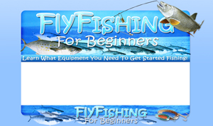 Thumbnail Fly Fishing PSD Minisite HTML Graphics Ready Made Web Template