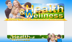 Thumbnail Health And Wellness PSD Minisite HTML Graphics Ready Made Web Template