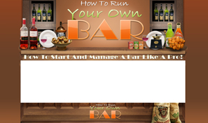 Thumbnail How To Run Your Own Bar PSD Minisite HTML Graphics Ready Made Web Template