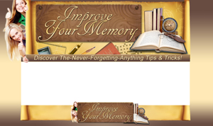 Thumbnail Improve Your Memory PSD Minisite HTML Graphics Ready Made Web Template