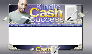 Thumbnail Kindle Cash Success PSD Minisite HTML Graphics Ready Made Web Template