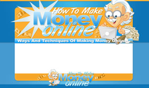 Thumbnail Make Money Online PSD Minisite HTML Graphics Ready Made Web Template