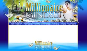Thumbnail Millionaire Mindset PSD Minisite HTML Graphics Ready Made Web Template