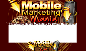 Thumbnail Mobile Marketing Mania PSD Minisite HTML Graphics Ready Made Web Template