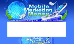 Thumbnail Mobile Marketing Money PSD Minisite HTML Graphics Ready Made Web Template