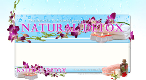 Thumbnail Natural Detox PSD Minisite HTML Graphics Ready Made Web Template