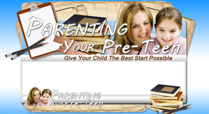 Thumbnail Parenting Your Preteen PSD Minisite HTML Graphics Ready Made Web Template