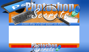 Thumbnail Photoshop Secrets PSD Minisite HTML Graphics Ready Made Web Template