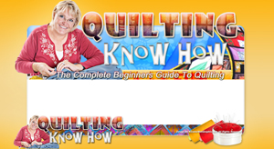Thumbnail Quilting Know How PSD Minisite HTML Graphics Ready Made Web Template