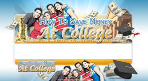 Thumbnail Save At College PSD Minisite HTML Graphics Ready Made Web Template