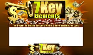 Thumbnail The 7 Key Elements PSD Minisite HTML Graphics Ready Made Web Template