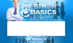 Thumbnail Webinar Basics PSD Minisite HTML Graphics Ready Made Web Template