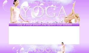 Thumbnail Yoga PSD Minisite HTML Graphics Ready Made Web Template