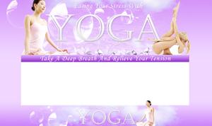 Thumbnail Yoga PSD Minisite HTML Graphics Ready Made Web Template