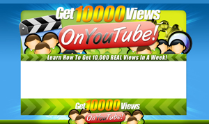 Thumbnail You Tube Views PSD Minisite HTML Graphics Ready Made Web Template