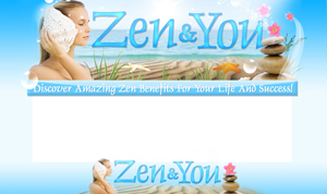Thumbnail Zen And You PSD Minisite HTML Graphics Ready Made Web Template