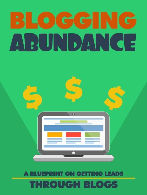 Pay for Blogging Abundance