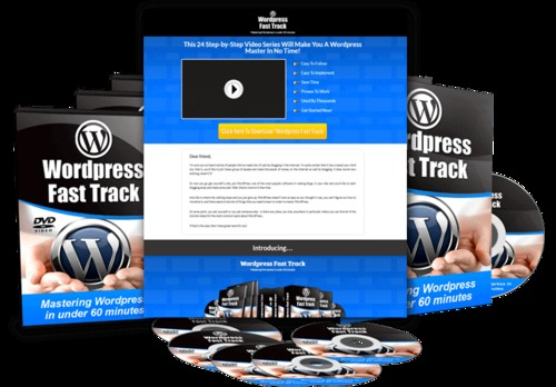 Pay for Wordpress Fast Track Tutorials with PLR