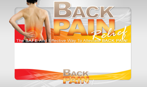 Pay for Back Pain Relief PSD Minisite HTML Graphics Ready Made Web Template