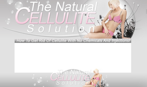 Pay for Natural Cellulite Solution PSD Minisite HTML Graphics Ready Made Web Template