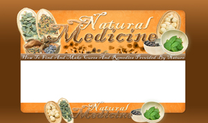 Pay for Natural Medicine PSD Minisite HTML Graphics Ready Made Web Template