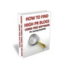 Thumbnail How To Find High PR Blogs ++With MRR++