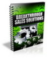 Thumbnail Breakthrough Sales Solutions ++With PLR++