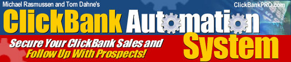 Pay for Clickbank Automation System ++With MRR++