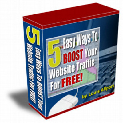 Pay for 5 Easy Ways To Boost Your Website Traffic For Free+With MRR+