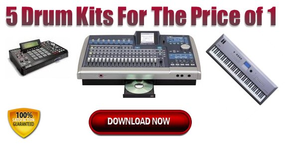 Pay for Hip Hop Drum Kits / Sound Kits - #1 Download in 2009