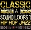 Thumbnail Classic PIANO,KEYS,RHODES WAV Sample Sound LOOPS 1 Hip Hop Jazz-Reason,Studio,Ableton,Mpc