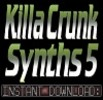 Thumbnail Hip Hop Crunk SYNTH,STAB,FX WAV Sample Sounds V5-Reason,Studio,Ableton,Logic,Mpc