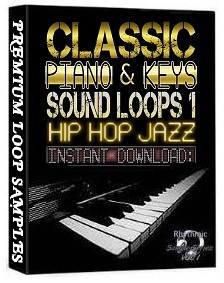 PIANO,KEYS,RHODES,SOUNDS WAV LOOP SAMPLES 1 Hip Hop Jazz Akai ...