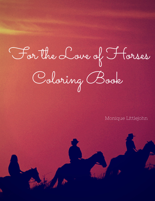 Pay for Horses Coloring Book