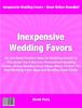 Thumbnail Inexpensive Wedding Favors