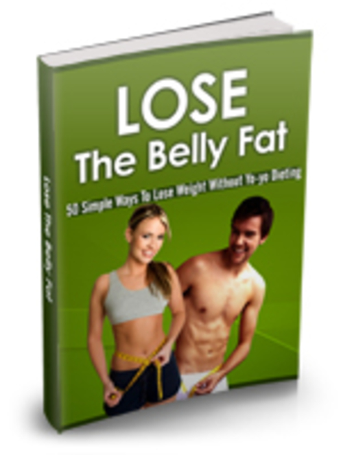 Pay for Lose the belly fat ebook with web page