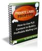 Thumbnail Private Lable Profits +30 Profitable MRR eboks