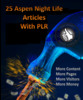 Thumbnail 25 Aspen Nightlife Articles + Profitablr ebooks