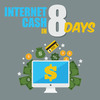 Thumbnail Give You Internet Cash In 8 Days Course With Plr Rights