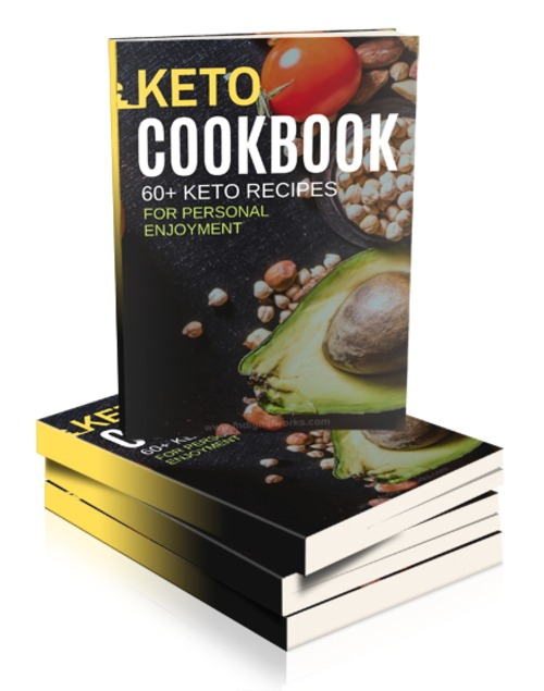 Pay for Keto Diet Cookbook w/Sales Materials MRR