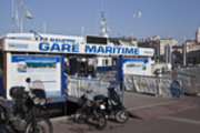 Thumbnail Marseille : departure of shuttles to Le Frioul islands
