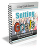 Thumbnail  Setting Goals For Success + PLR