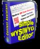 Thumbnail Simple WYSIWYG Editor