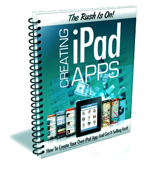 Pay for Creating iPad Apps + PLR