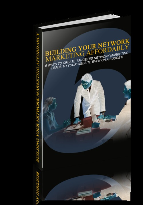 Pay for Building Your Network Marketing Affordably