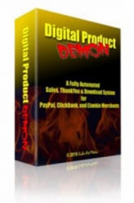 Pay for Digital Product Demon - Fully Automated Sales System